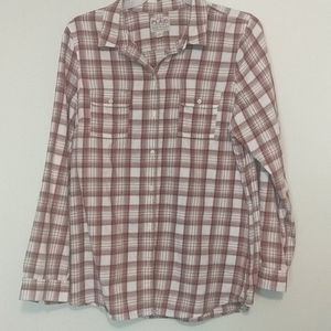 Old Navy flannel plaid shirt